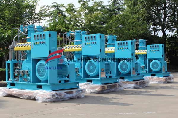 20m3 Air Cooling Oil Free Medicacl High Pressure Oxygen Compressor Manufacturers